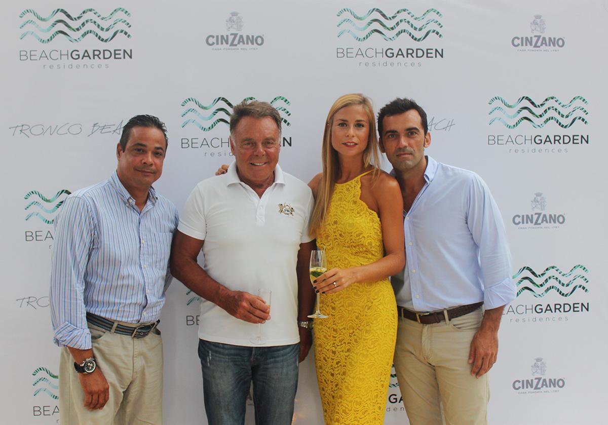 Fausto de Leon, Paco Abril, Marta Hidalgo y Javier Donoso