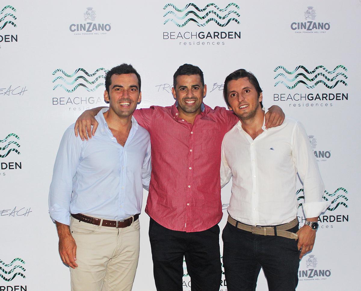 Javier Donoso, Antonio Ramirez y Joan Trilla