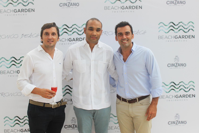 Joan Trilla, Jorge Henriquez y Javier Donoso