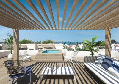 beach-garden-residences-condos-for-sale-punta-cana-rooftop