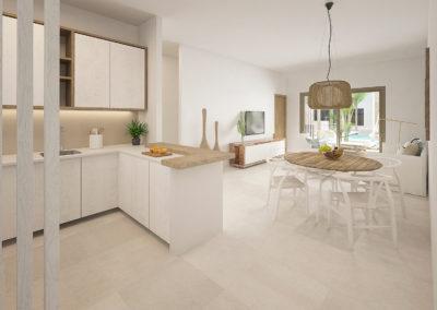 beach-garden-residences-condos-for-sale-punta-cana-salon-comedor-apartamento-B