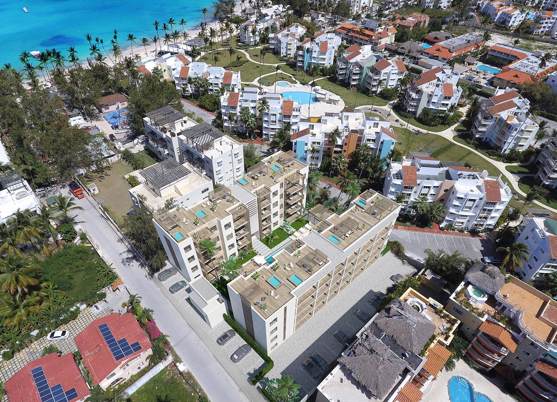 Beach Garden Residences Condos For Punta Cana