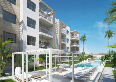 beach-garden-residences-condos-for-sale-punta-cana-zonas-comunes-exterior-piscina